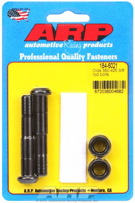 ARP - ARP1846021 - ARP High Performance Rod Bolts- Oldsmobile Small Block- 225,307,350,403,425-2 Pieces