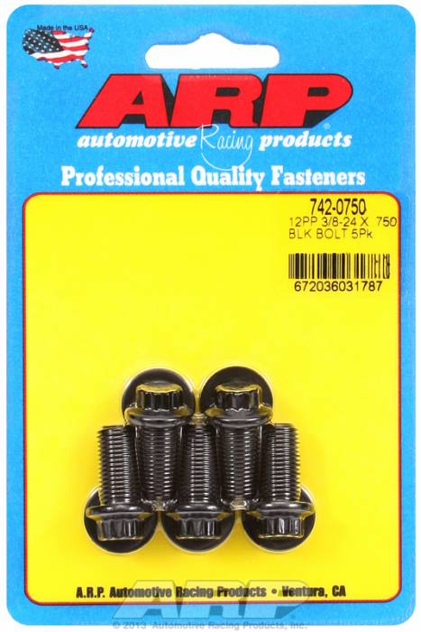 "ARP - ARP7420750 - ""3/8""""-24 X .750 12PT"""