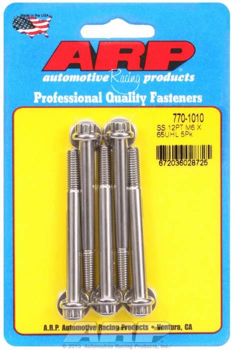 ARP - ARP7701010 - M6 X 1.00 X 65 12Pt