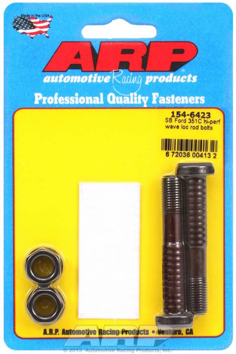 "ARP - ARP1546423 -  ARP High Performance Wave-Loc Rod Bolts- Ford 351 ""C"" - 2 Pieces"