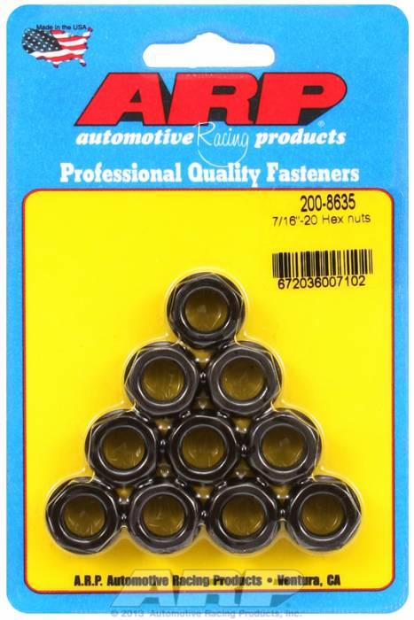 """ARP - ARP2008635 - """"7/16""""""""-20 Hex Nut Kit"""""""