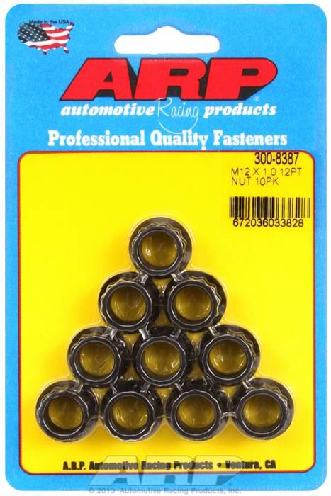 ARP - ARP3008387 - M12X1.00 12PT NUT KI