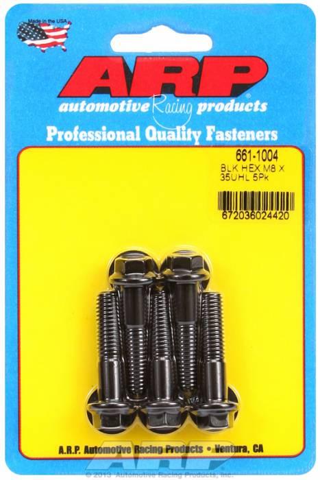 ARP - ARP6611004 - M8X1.25X35 HEX BLACK