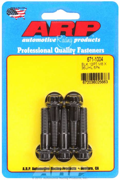 ARP - ARP6711004 - M8 X 1.25 X 35 12PT