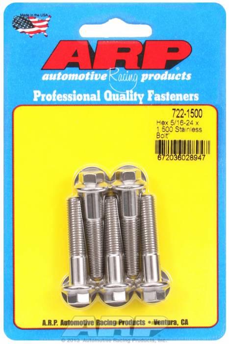 """ARP - ARP7221500 - """"5/16""""""""-24 X 1.500 HEX"""""""