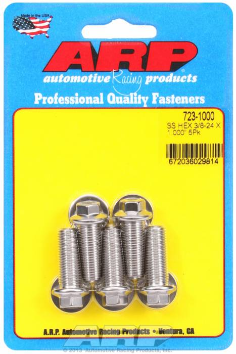 """ARP - ARP7231000 - """"3/8""""""""-24 X 1.000 HEX"""""""