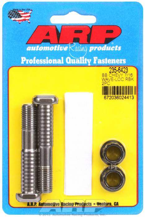 ARP - ARP2356423 - ARP-Rod Bolts-High Performance Pro Wave-Loc-Chevy 1962-1965 409- 2 Pieces