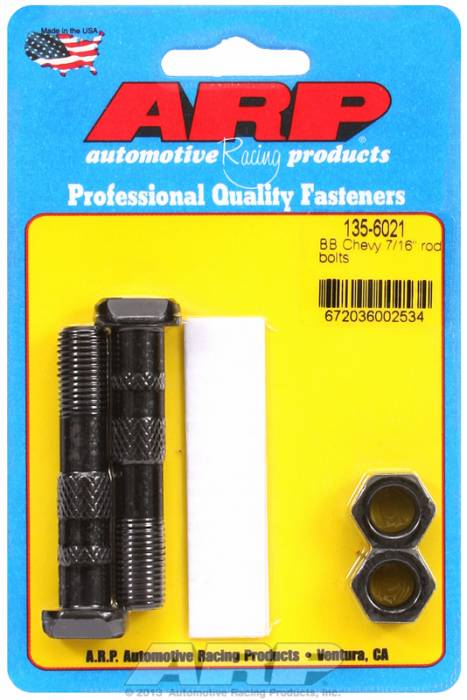 "ARP - ARP1356021 - -ARP-Rod Bolts-High Performance-Chevy Big Block- 454 & 502-7/16""-2 Pieces"