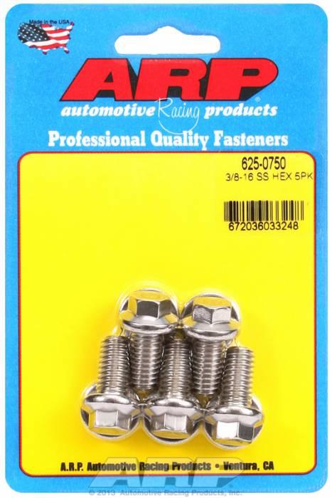ARP - ARP6250750 - 3/8'-16x0.750 hex 7/
