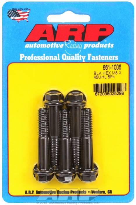 ARP - ARP6611006 - M8X1.25X45 Hex Black