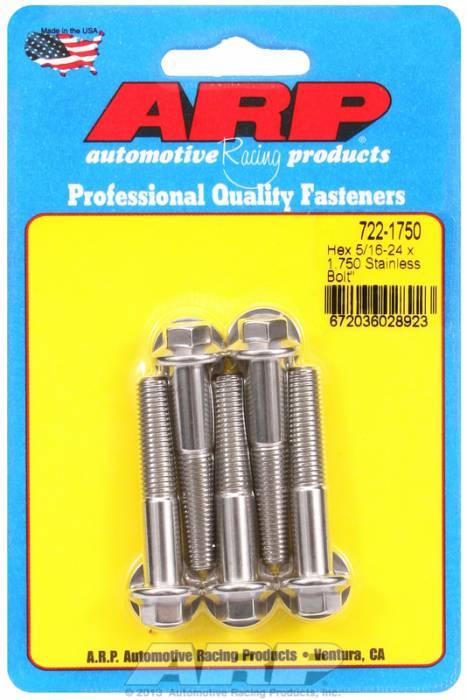 """ARP - ARP7221750 - """"5/16""""""""-24 X 1.750 HEX"""""""