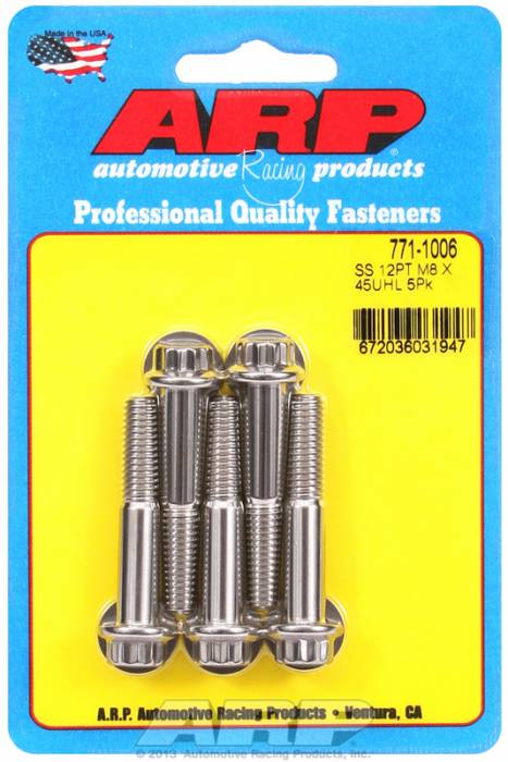 ARP - ARP7711006 - M8 X 1.25 X 45 12PT
