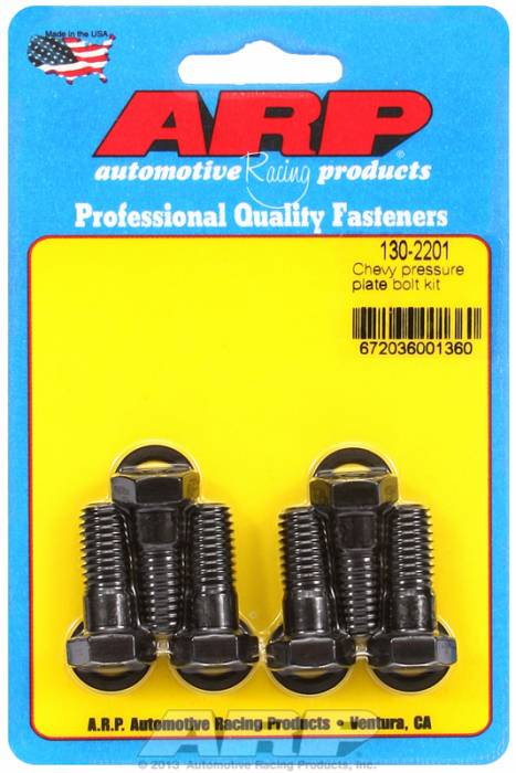 "ARP - ARP1302201 - ARP Pressure Plate Bolt Kit- High Performance Series- Chevy- 3/8""-16, 9/16"" Wrench Size"