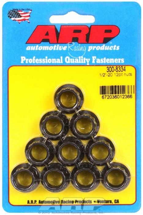 """ARP - ARP3008334 - 1/2""""-20 12pt nuts"""