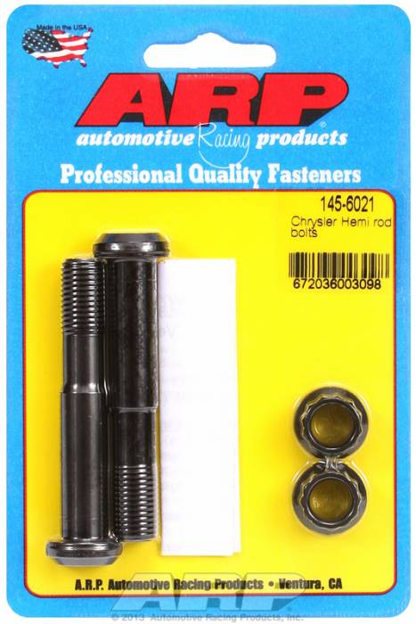 ARP - ARP1456021 -  ARP-Rod Bolts-High Performance -Chrysler 426- (Late Hemi)-2 Pieces