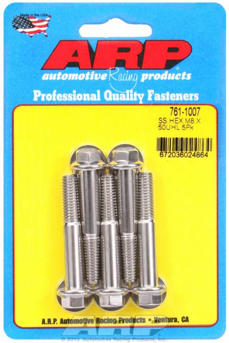ARP - ARP7611007 - M8 X 1.25 X 50 HEX S