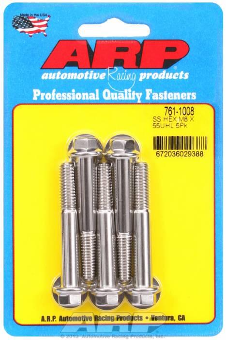 ARP - ARP7611008 - M8 X 1.25 X 55 Hex S