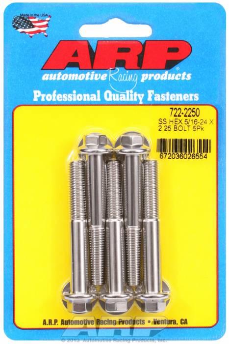 """ARP - ARP7222250 - """"5/16""""""""-24 X 2.250 HEX"""""""