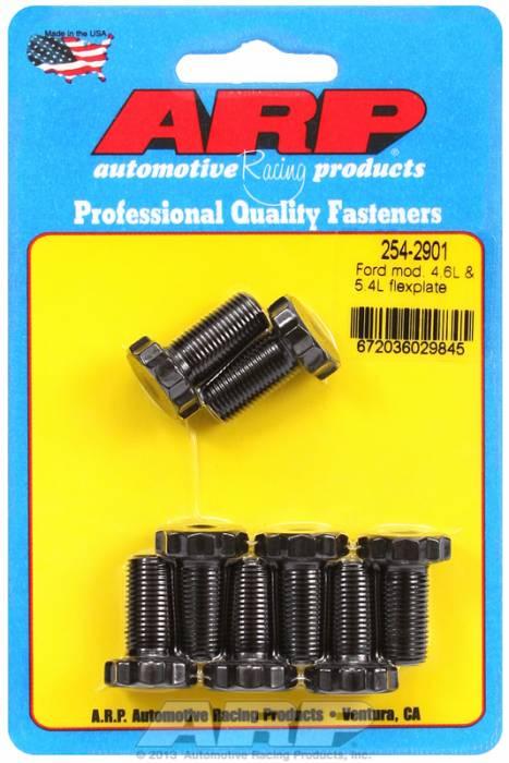 ARP - ARP2542901 - ARP Pro Series Flexplate Bolt Kit - Ford 4.6L & 5.4L Modular V8 - M10 X 1.0 X .800