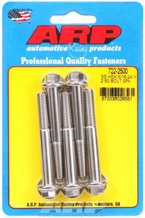 """ARP - ARP7222500 - """"5/16""""""""-24 X 2.500 HEX"""""""