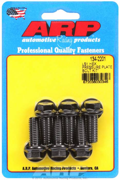 ARP - ARP1342201 - ARP Pressure Plate Bolt Kit- High Performance Series- Chevy LS1-LS6-Gen III- M10 X 1.50