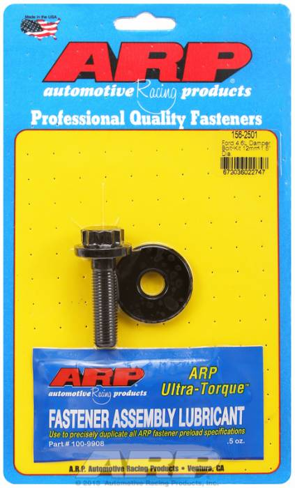 ARP - ARP1562501 - ARP Balancer Bolt- Ford 4.6L-- 18Mm Head, 12Mm X 1.5Mm  Thread- 12 Point Head With Washer