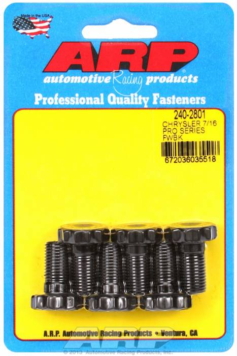 ARP - ARP2402801 - FLYWHEEL BOLT KIT