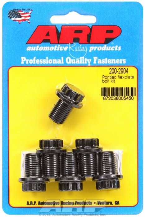"ARP - ARP2002904 - ARP Pro Series Flexplate Bolt Kit - Pontiac 350-455 - 1/2""-20 X .500"" Long"