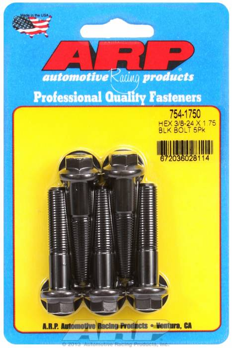 """ARP - ARP7541750 - """"3/8""""""""-24X1.750 Hex 7/"""""""