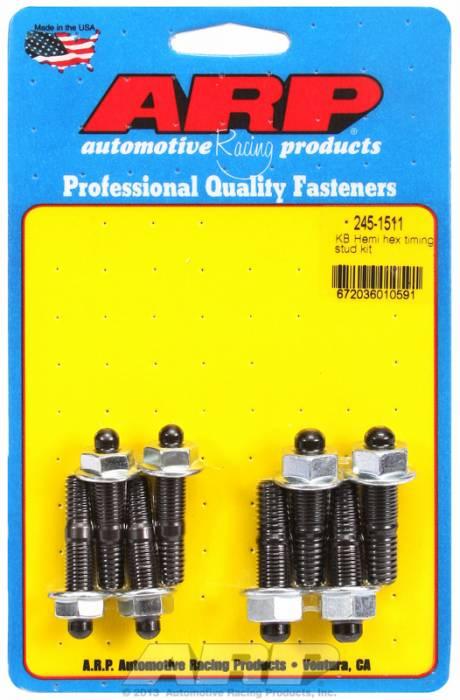 ARP - ARP2451511 - ARP Timing Cover Bolt Kit- Chrysler Kb Hemi- Black Oxide- 6 Point Head