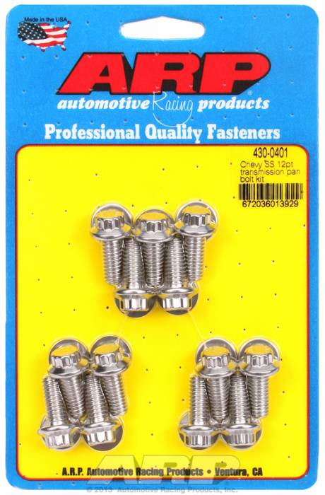 ARP - ARP4300401 - Chevy SS 12pt transmission pan bolt kit