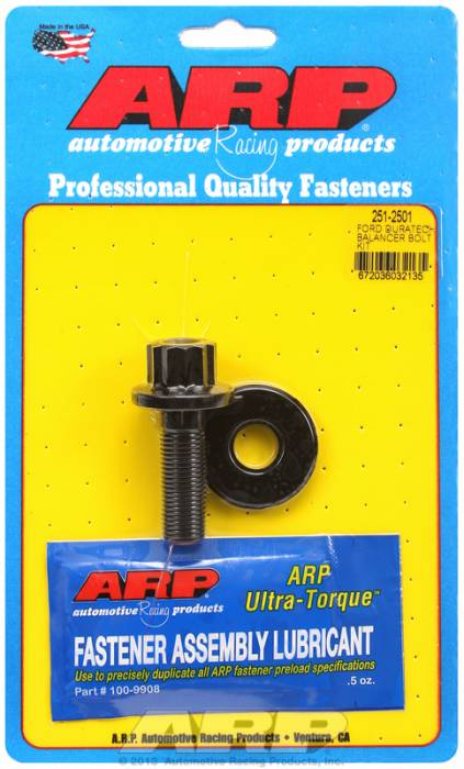 ARP - ARP2512501 -  ARP Balancer Bolt- Ford Duratec 19mm Head, 14MM X 1.25mm Thread Thread- 12 Point Head With Washer