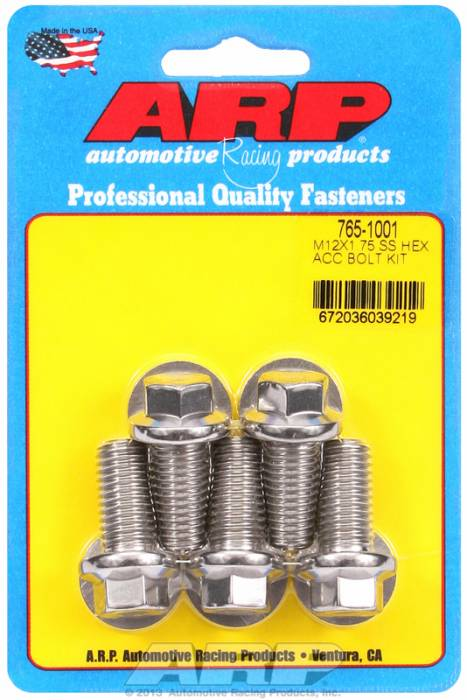 ARP - ARP7651001 - HEX SS BOLTS