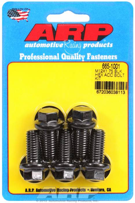 ARP - ARP6651001 - HEX BLK OXIDE BOLTS