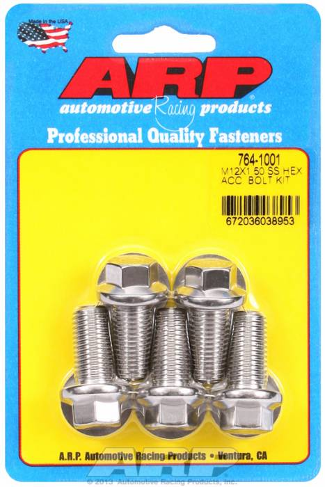 ARP - ARP7641001 - HEX SS BOLTS