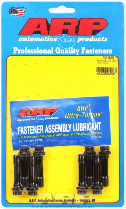ARP - ARP1046005 -  ARP High Performance Rod Bolts- Volkswagen Cap Screw Formula Vee -Complete Set