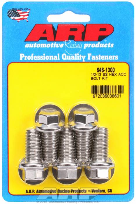 ARP - ARP6461000 - HEX SS BOLTS