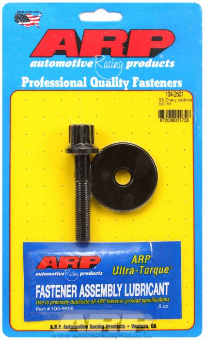 "ARP - ARP1342501 - ARP Balancer Bolt- Small Block Chevy- 5/8"" Head- 7/16""-20 Thread- 12 Point Head With Washer"