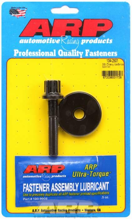"ARP - ARP 134-2501 - ARP Balancer Bolt- Small Block Chevy- 5/8"" Head- 7/16""-20 Thread- 12 Point Head With Washer"