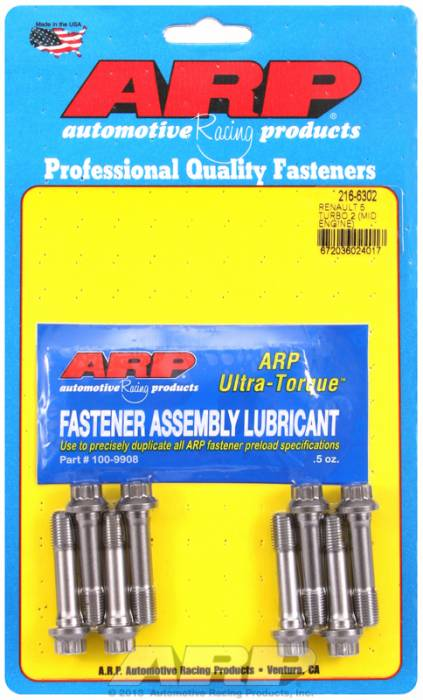 ARP - ARP2166302 -ARP High Performance Pro Wave-Loc 2000 Rod Bolts- Renault Clio, 16V, 9Mm -Complete Set