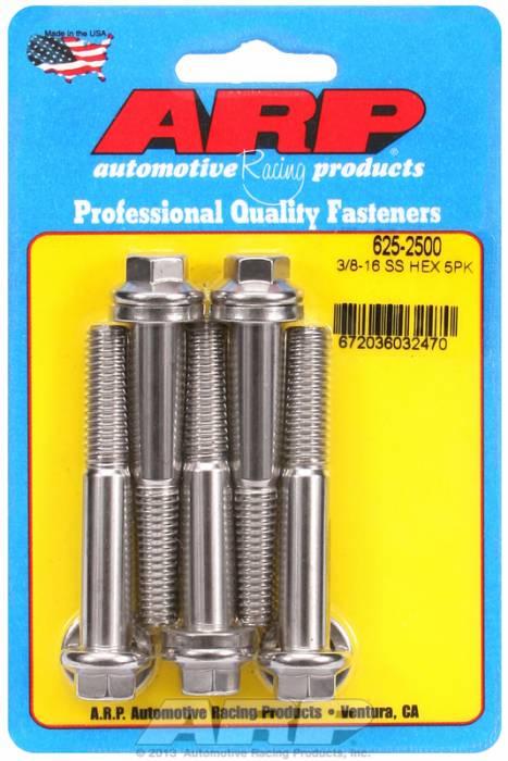 """ARP - ARP6252500 - """"3/8""""""""-16X2.500 HEX 7/"""""""