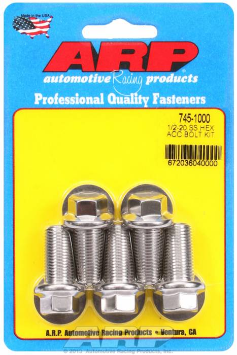 ARP - ARP7451000 - HEX SS BOLTS