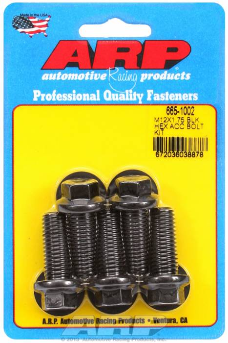 ARP - ARP6651002 - HEX BLK OXIDE BOLTS