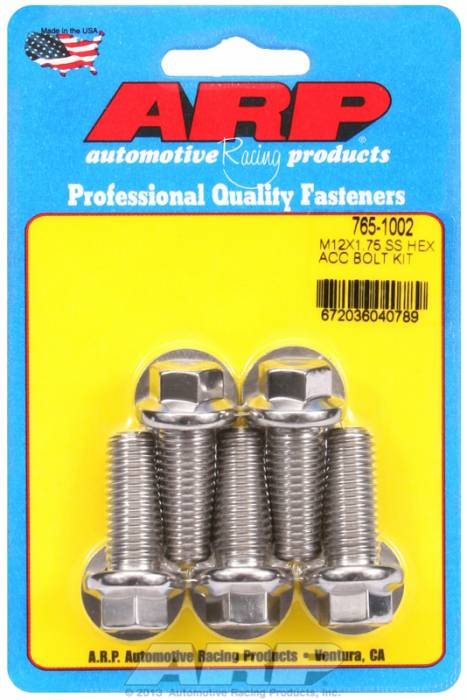 ARP - ARP7651002 - HEX SS BOLTS