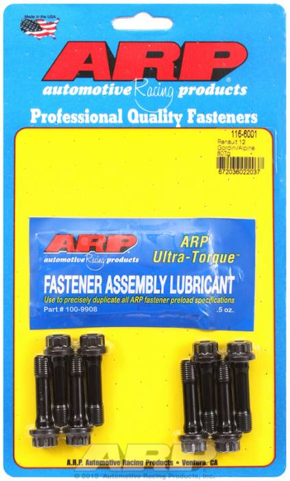 ARP - ARP1166001 - ARP High Performance Rod Bolts- Renault 12 Gordini/Alpine 807G -Complete Set