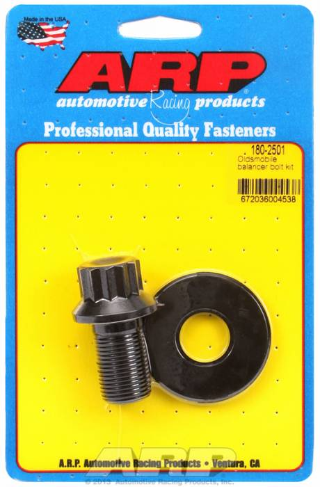 "ARP - ARP1802501 -  ARP Balancer Bolt- Ford V8's - Oldsmobile V8- 13/16"" Head- 3/4""-16 Thread- 12 Point Head With Washer"