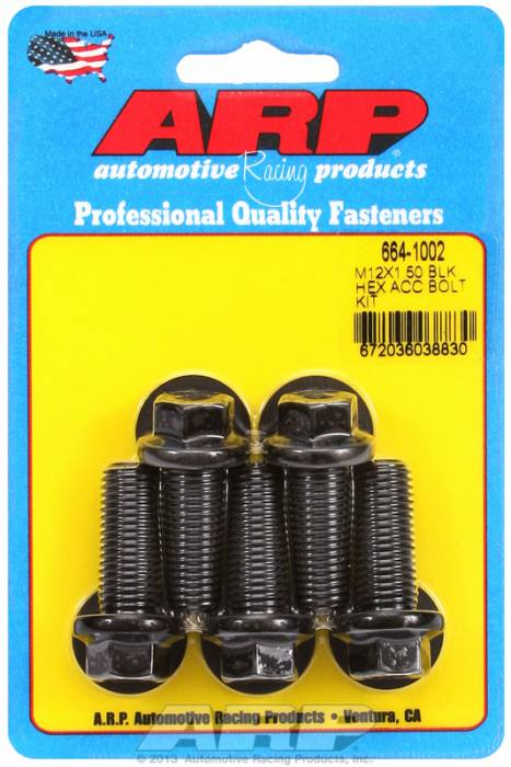 ARP - ARP6641002 - HEX BLK OXIDE BOLTS