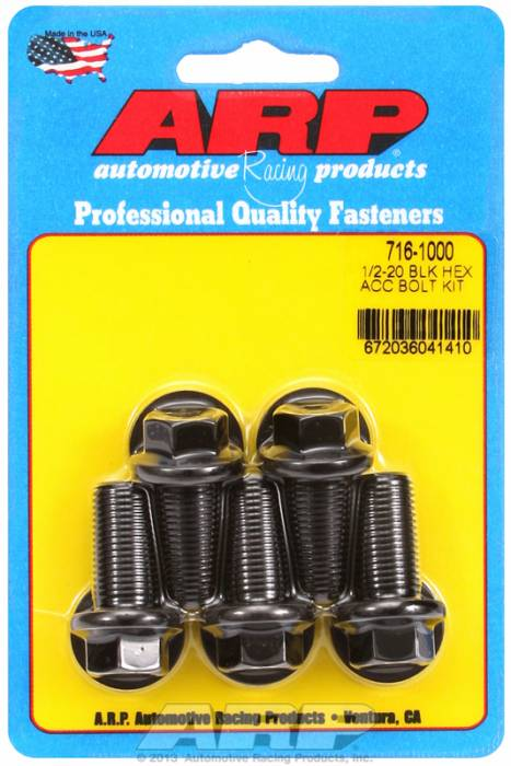 ARP - ARP7161000 - HEX BLK OXIDE BOLTS