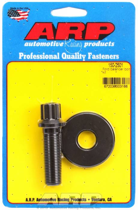 "ARP - ARP1502501 - ARP Balancer Bolt- Ford V8's - (Exc. 351C)- 5/8"" Head, 5/8""-18 Thread- 12 Point Head With Washer"