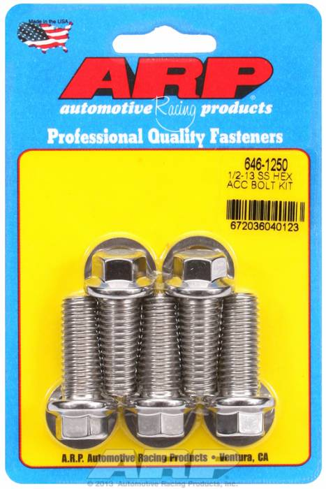ARP - ARP6461250 - HEX SS BOLTS